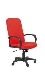 Cadeira Lester, costa alta, mecanismo oscilante com possibilidade de bloqueio em duas posições, Par de braços incluído BLE.500