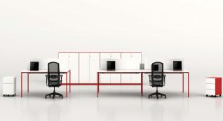 mobiliário de escritório Linha NOA Ilha posto trabalho_04