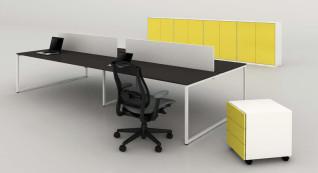 mobiliário de escritório Linha NOA Ilha posto trabalho_07