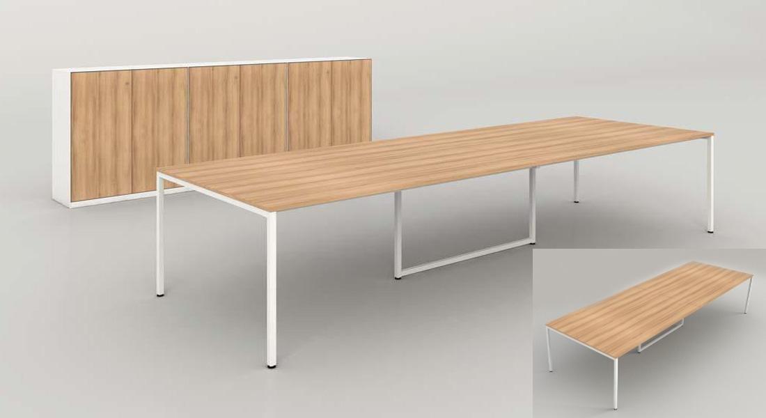 mobiliário de escritório Linha NOA Mesa reunião_05