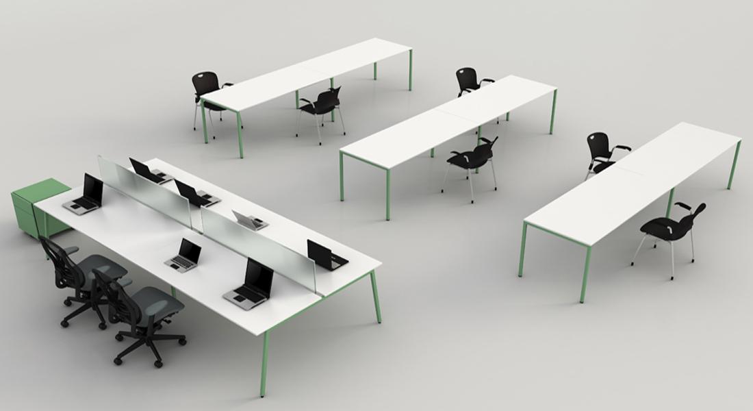 mobiliário de escritório Linha NOA secretária posto trabalho_011