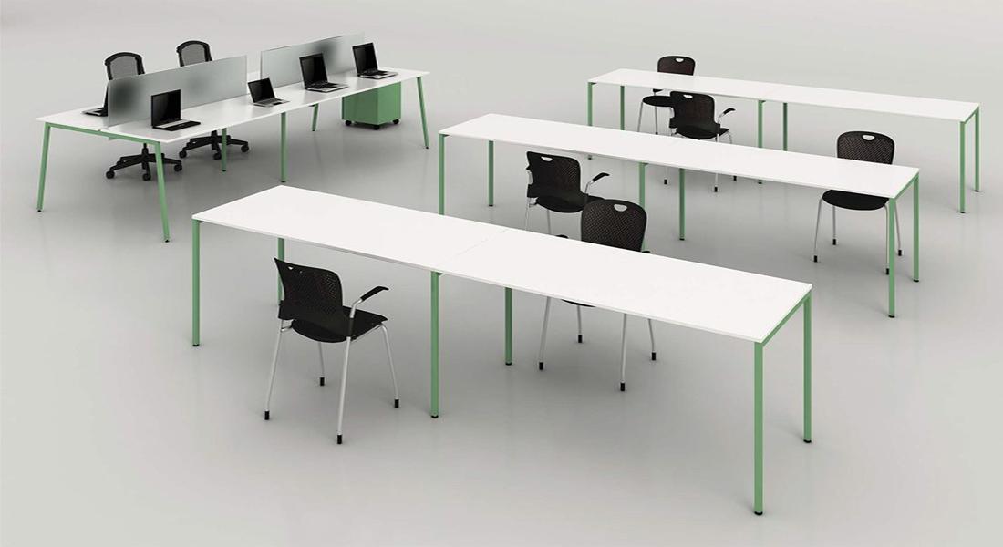 mobiliário de escritório Linha NOA secretária posto trabalho_012