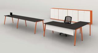 mobiliário de escritório Linha NOA secretária posto trabalho_09