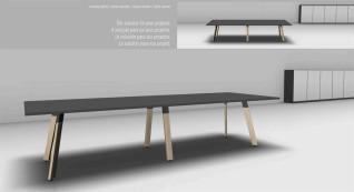 mobiliário de escritório linha Endow mesa reuniao_03