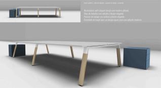 Linha Endow Wood Metal