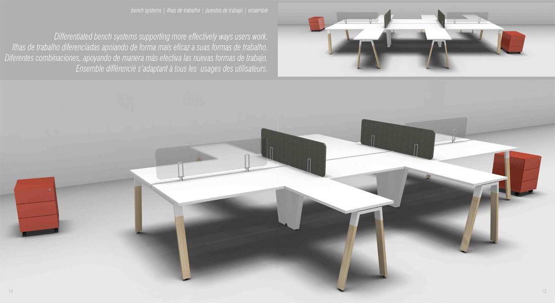 mobiliário de escritório linha Endow secretaria alonga_07