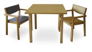 mobiliario geriatria mesas