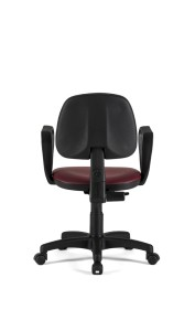 Cadeira Red, costa baixa, mecanismo de contacto permanente, sistema de elevação simples BRE.110