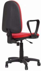 Cadeira Red, costa alta, mecanismo de contacto permanente, sistema de elevação simples BRE.210