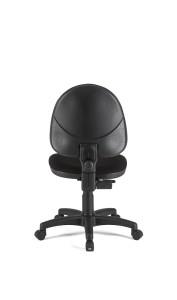 Cadeira Star, costa baixa, mecanismo de contacto permanente, sistema de elevação simples BST.110