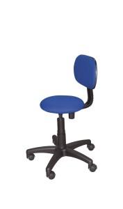 Cadeira Stitch, assento e costa com estofo, contacto fixo, sistema de elevação simples BMU.206