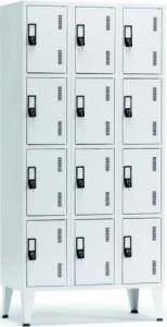 vestiario triplo 12 cacifos 1900x900x500mm