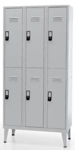 vestiario triplo 6 cacifos 1900x900x500mm