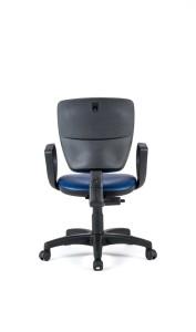 Cadeira Vip, costa baixa, mecanismo de contacto permanente, sistema de elevação simples BVI.110
