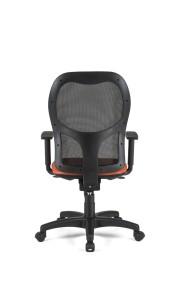 Cadeira Voga, costa em rede, assento com estofo, mecanismo sincronizado com possibilidade de bloqueio em cinco posições, com apoio lombar BVO.500