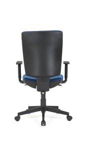 Cadeira Zeus, costa Média mecanismo sincronizado com possibilidade de bloqueio em cinco posições e regulação da costa em altura BZU.501