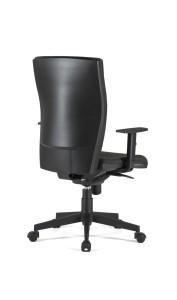 Cadeira Zeus, costa ALTA mecanismo sincronizado com possibilidade de bloqueio em cinco posições e regulação da costa em altura BZU.500